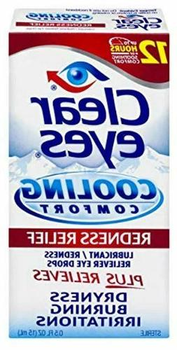 Clear Eyes   Cooling Comfort Redness Relief Eye Drops   0.5