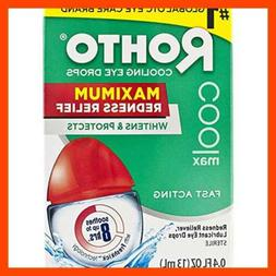 Rohto Cooling Eye Drops .4 Fl Oz 2Pc Health Personal Care
