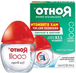 Rohto Cooling Eye Drops & Redness Relief Maximum Strength 0.