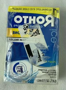 Rohto Cooling Redness Relief Eye Drops .4 Oz Sealed Z69