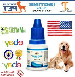 Best DOG/CAT Eye Drops Cataract, Glaucoma, Non-Carnosine , E