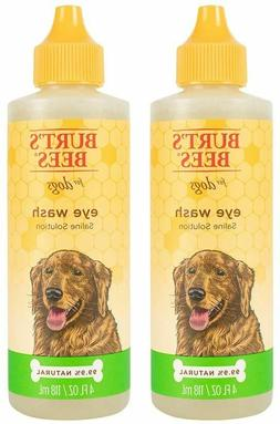 dogs natural eye wash with saline solution