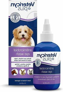 DOGS PLUS EYE WASH DOG EYE DROPS FOR INFECTION