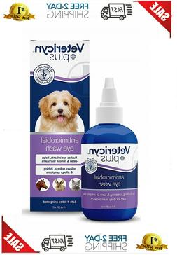 dogs plus eye wash dog for infection