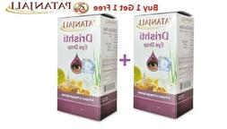 Drishti Eye Drops 2 Packs x 10ml Patanjali  Eye Care Herbal