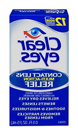 CLEAR EYES DROPS CONTACT LENS .5 OZ
