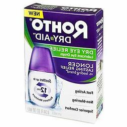 Rohto Dry-Aid Dry Eye Relief Lubricant Eye Drops - .34 oz