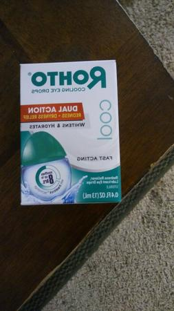 ROHTO DUAL ACTION EYE DROPS Relieves Redness & Dryness