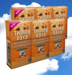 Ethos Eye Drops for Dogs 6 Boxes 60ml Bright Eyes for Pets C