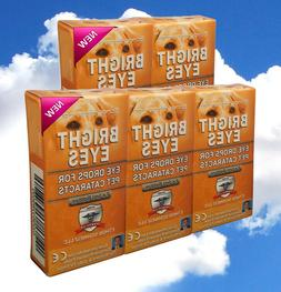 Ethos Bright Eyes for Dogs & Pet Eye Drops Five Boxes 50ml