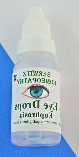 Euphrasia Homeopathy Eye Wash Drops Cleanser  Relieves Itchy
