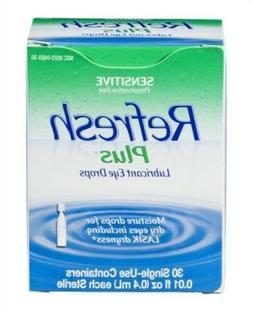 exp03/2019 Refresh PLUS Lubricant Eye Drops moisturizing 30