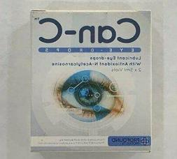 Can-C Eye Drops for Cataract Treatment with N-Acetylcarnosin