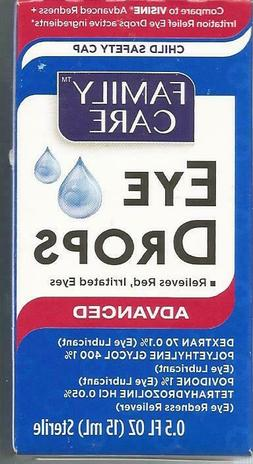 Family Care Eye Drops Advanced Sterile 15ml pack of 1