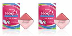 Rohto Eye Drops Lycee for Contact Lenses【8ml × 2 packs】