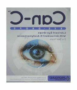 Can-c Eye-drops Two Boxes: Contains Four 5ml Vials