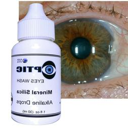EYES DROPS Redness Allergy Pterygium Cataract SILICA OPTIC C