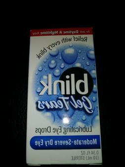 Blink Gel Tears Eye Drops Exp 5/20 Open Box Sealed Bottle
