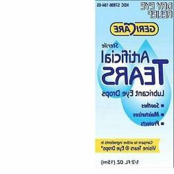 Gericare- Artificial lubricating Tears Dry Eye relief 0.5 OZ