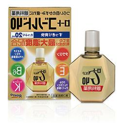 Rohto GOLD 40 Eye Drops Maximum Vitamins Concentration 20ml