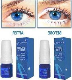 5 x Innoxa Gouttes Bleues French eye drops 5 x 10 ml