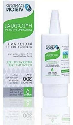HYLO DUAL Hylo-Protect EYE DROPS 10ml moisturizing Dry Eye A