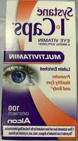 Icaps I-Caps Mv Eye Vitamin & Mineral Supplement Lutein Enri