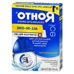 Rohto Ice Redness Relief Eye Drops 0.43 oz