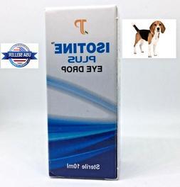 ISOTINE PLUS - Safe DOG/CAT Eye Drops - Cataract Carnosine E