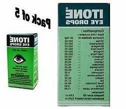 ITONE 5 X Ayurvedic Herbal Eye Drops Natural Allergies 10ml