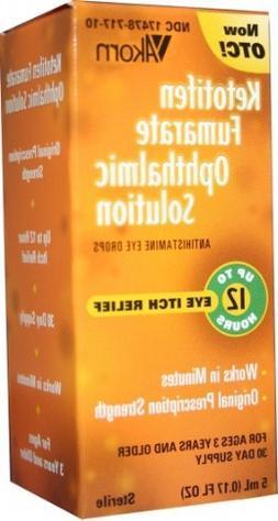Ketotifen Opth Sol 0.025% *Compare to Zaditor*