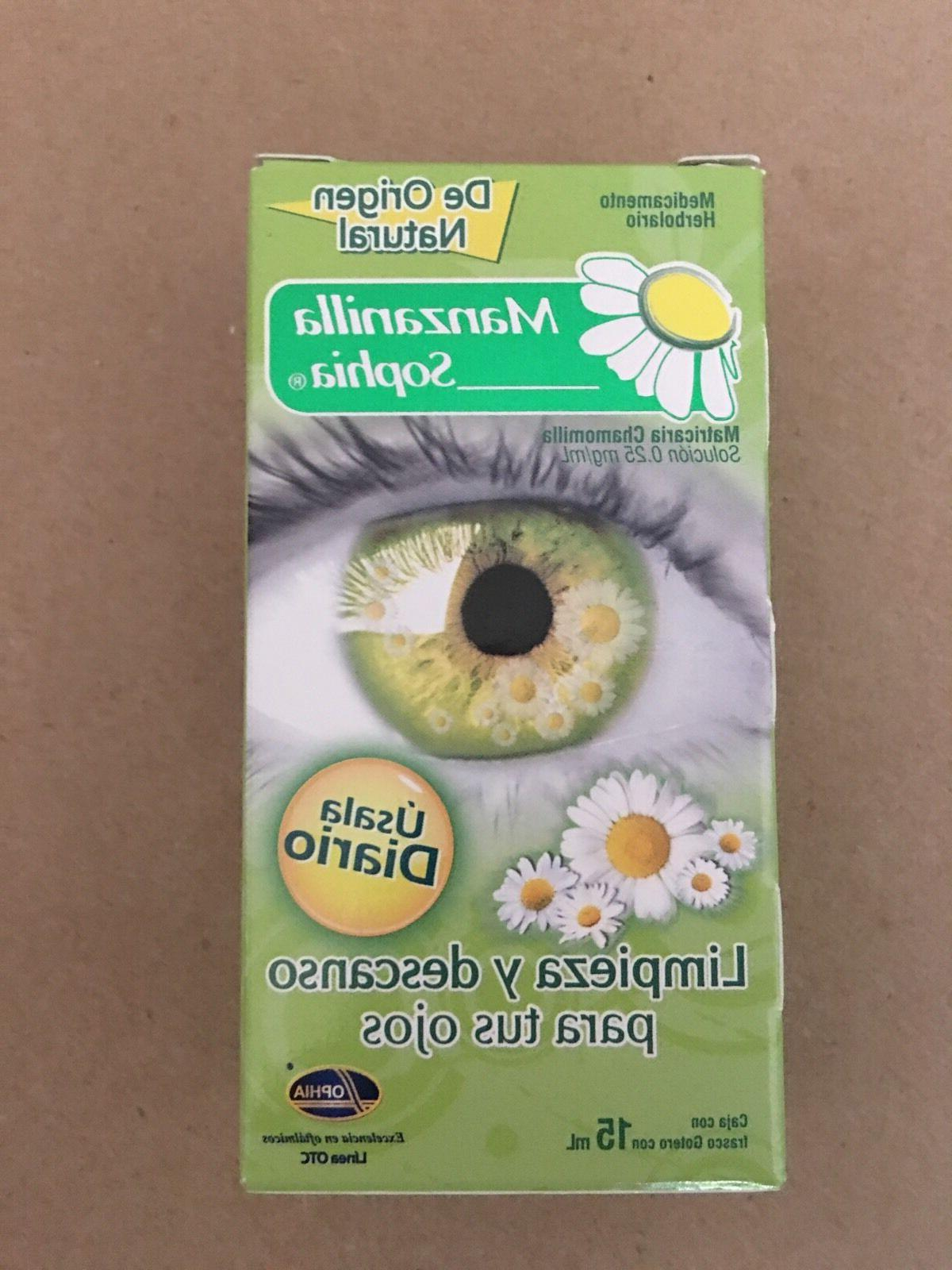 1 sophia chamomile herbal eye drops gotas