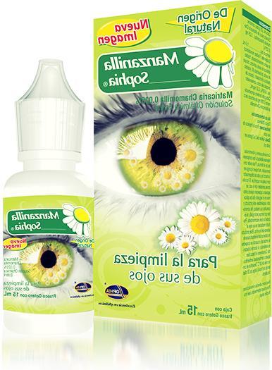 1x sophia chamomile herbal eye drops gotas