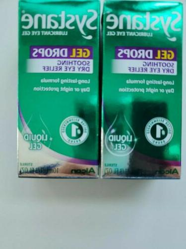2 liquid gel lubricant eye drops 10ml