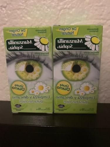 2 pack chamomile herbal eye drops 2