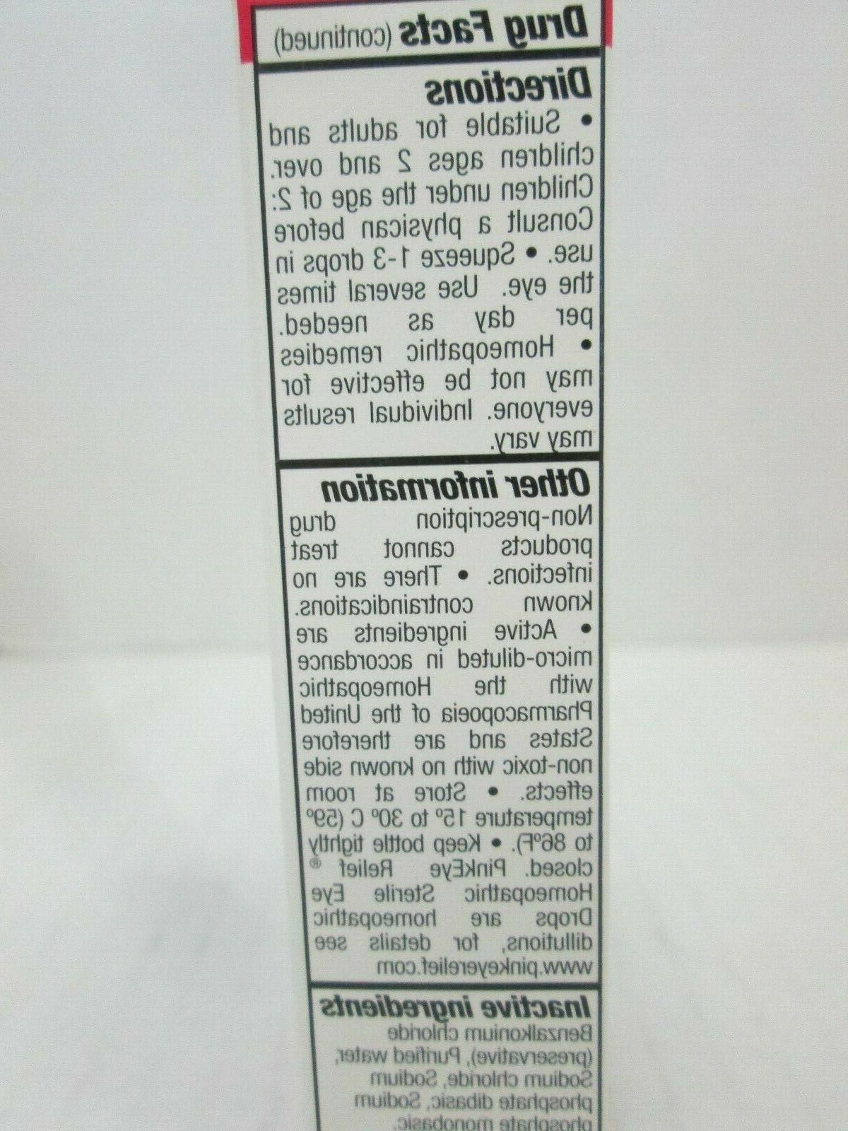 5 RELIEF HOMEOPATHIC STERILE DROPS .33 OZ EA