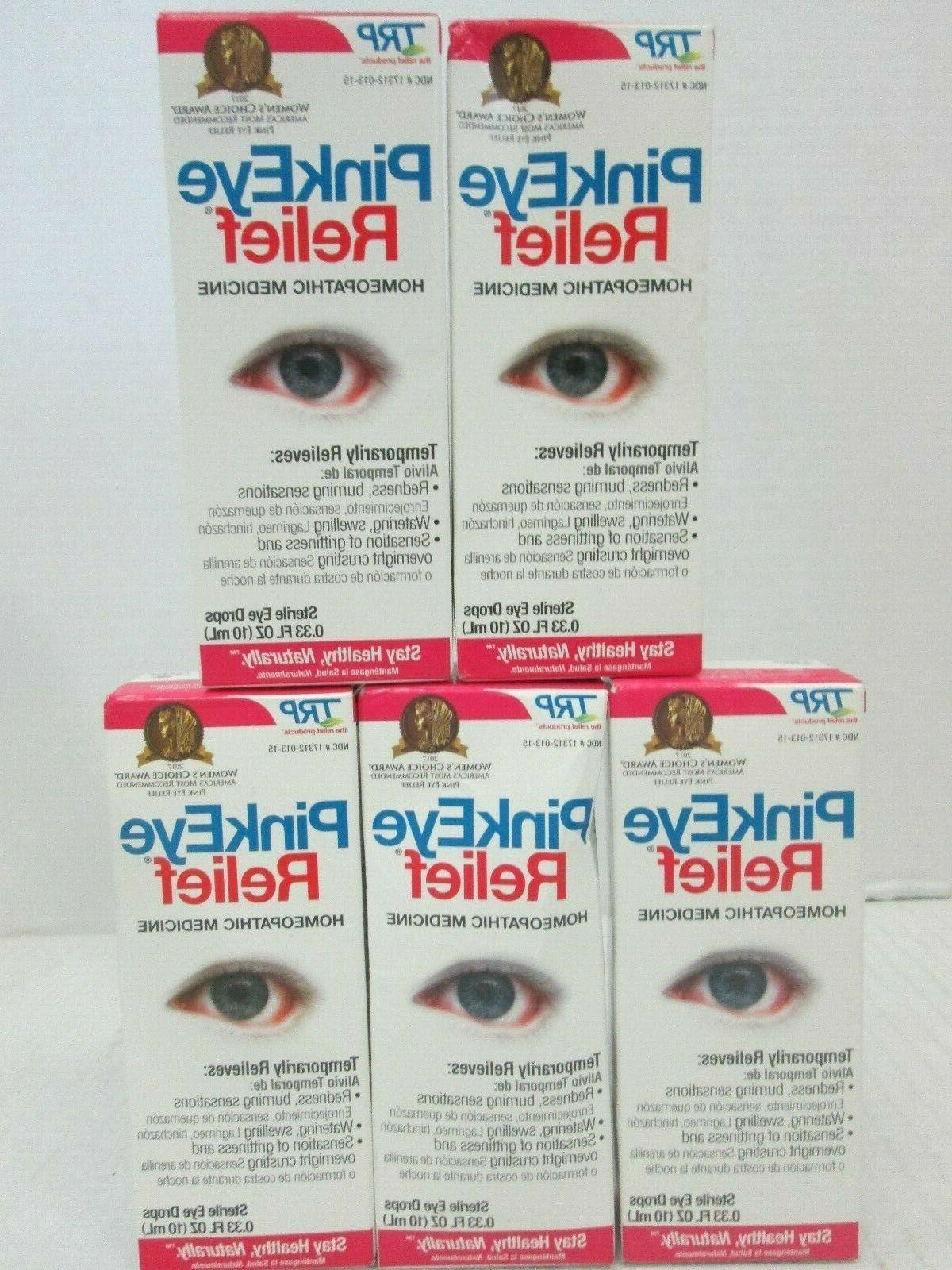 5 trp pink eye relief homeopathic sterile