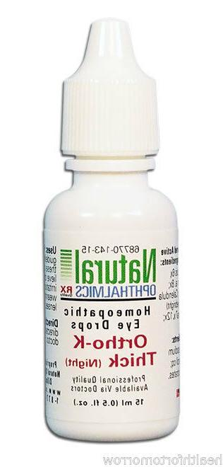 Natural Ophthalmics - Ortho-K Thick  Time 10ml