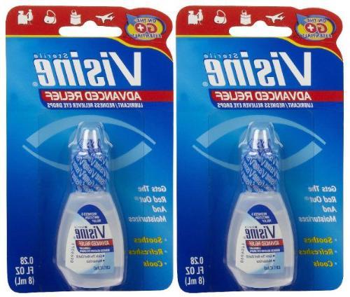advanced relief redness reliever eye