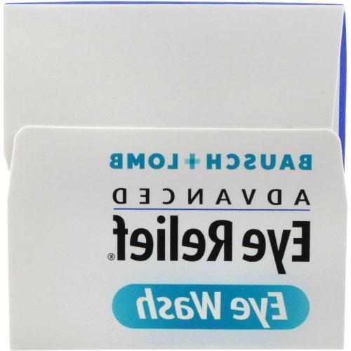 B&L Eye Bausch & Lomb Eye Relief, Wash Eye Solution