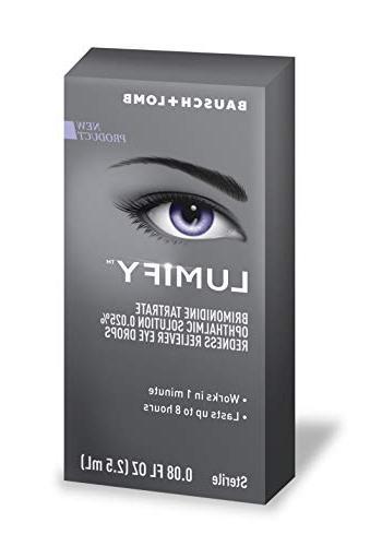 Bausch + Lumify Redness Reliever Eye 0.08 Bottle