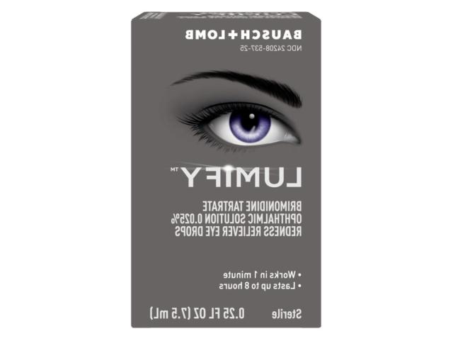 lumify redness reliever eye drops 7 5ml