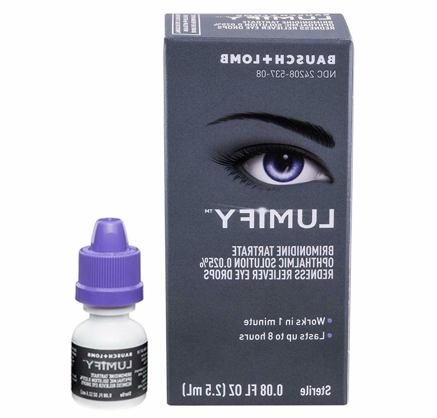 LUMIFY Redness Reliever Eye Drops Exp.