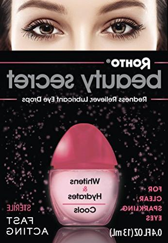 Rohto Beauty Eye Drops 0.4fl - helps and irritated eyes