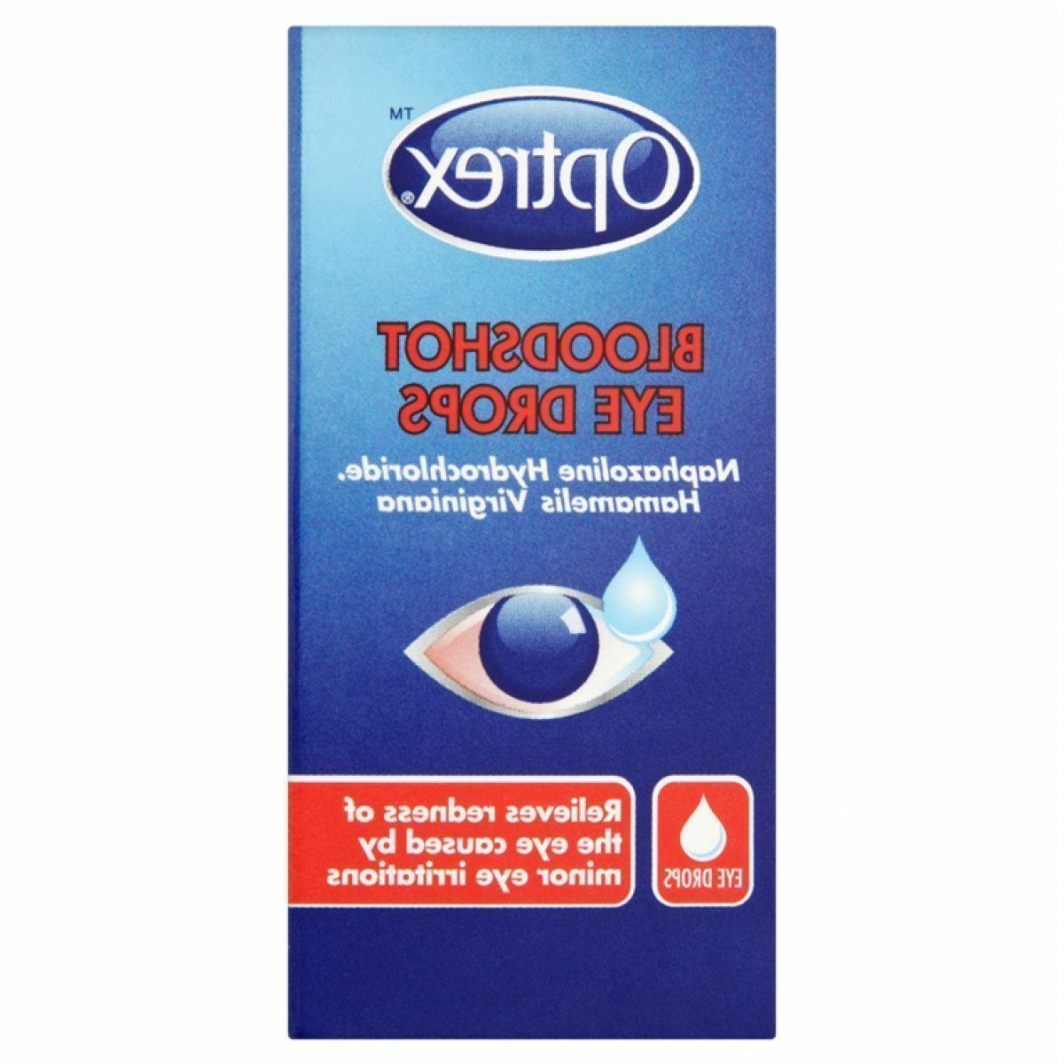 bloodshot eye drops 10ml relief red ness