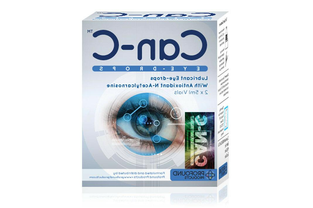 can c eye drops with n acetylcarnosine