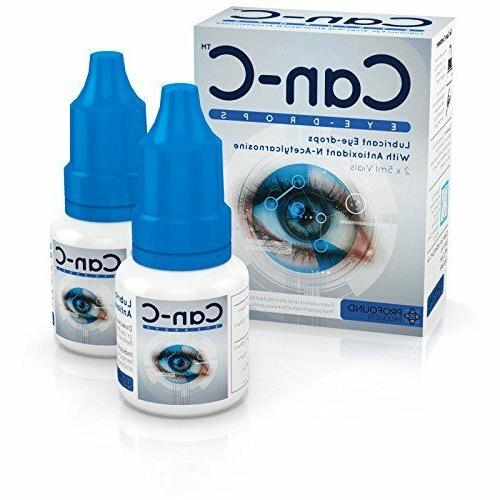 can c lubricant eye drops with n