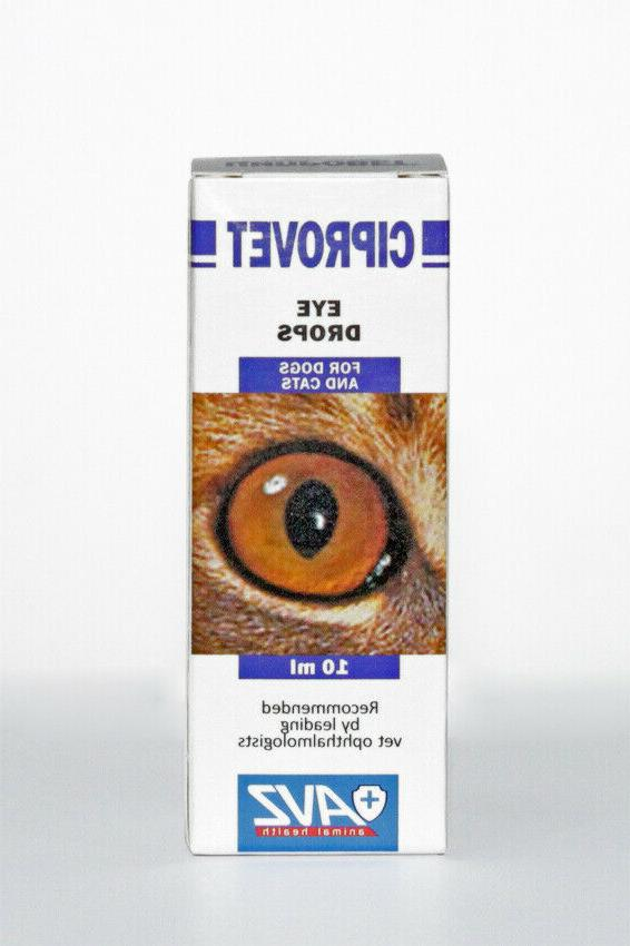 ciprovet eye drops for cats dogs pet