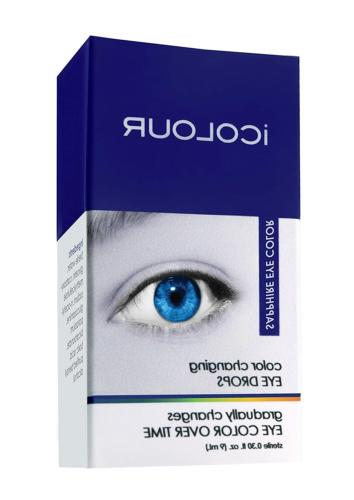 iCOLOUR Color Changing Drops - Your Eye Color 1 Month - 9