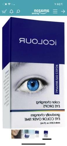 ICOLOUR Color Changing Eye Drops Changes Eye Color Over Time